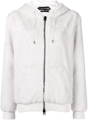 Tom Ford hooded zipped jacket