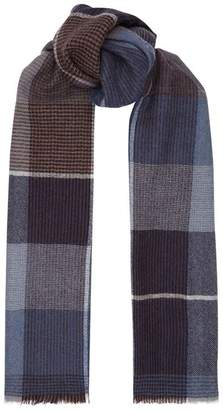 Paul Smith Wool Check Scarf