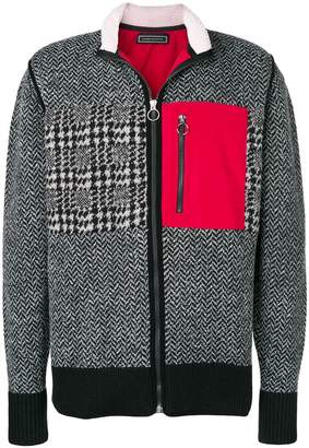 Tommy Hilfiger contrast patch cardigan