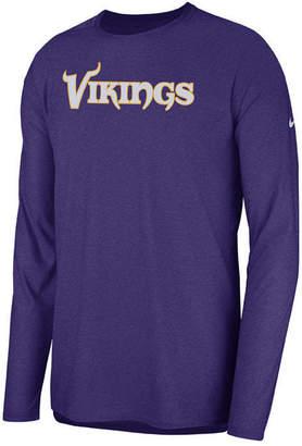 Nike Men's Minnesota Vikings Player Long Sleeve Top