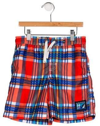 Nautica Boys' Plaid Shorts