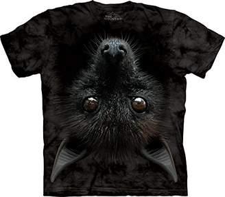 The Mountain Adult 100% Cotton Bat Head Realistic T-Shirt ()