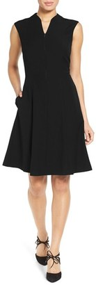 Women's Ellen Tracy Fit & Flare Dress $118 thestylecure.com