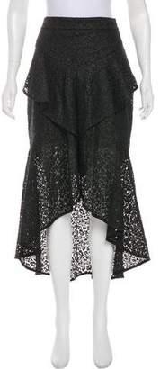 Rebecca Vallance Guipure Lace Midi Skirt w/ Tags