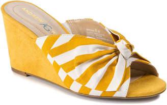 Andrew Geller Brenna Wedge Sandal - Women's