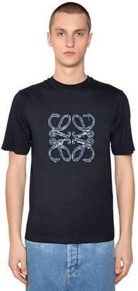 Loewe Logo Detail Cotton T-Shirt