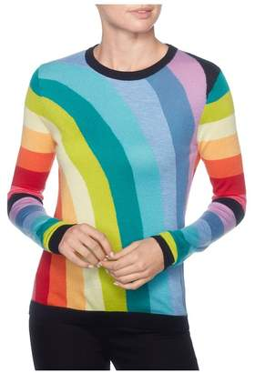 Magaschoni Multi Color Rainbow Pullover