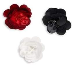 Scripted Flower Pin Set
