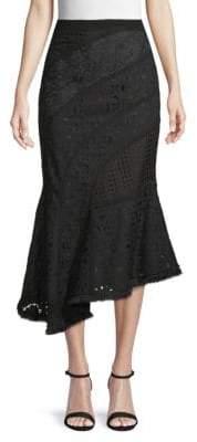 Andrew Gn Cotton Asymmetrical Mermaid Skirt