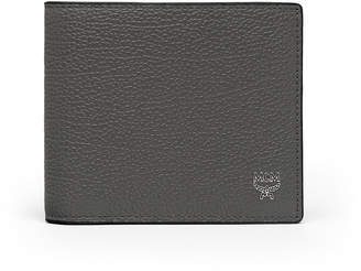 MCM Ottomar Grained Leather Bifold Wallet