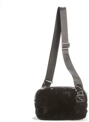 90f4df75a6b0 La Redoute COLLECTIONS Faux Fur Shoulder Bag
