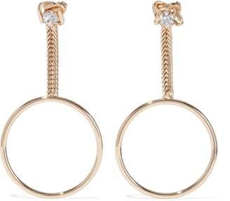 Dannijo Yandie Gold-plated Crystal Earrings