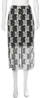 Diane von Furstenberg Lace Midi Skirt w/ Tags