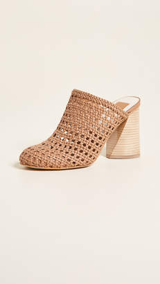 Dolce Vita Boston Woven Block Heel Pumps