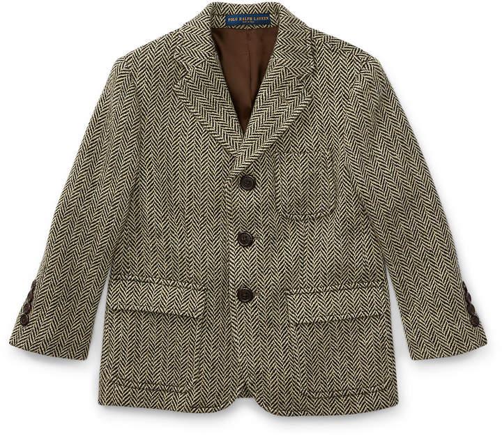 Merino Wool–Blend Sport Coat
