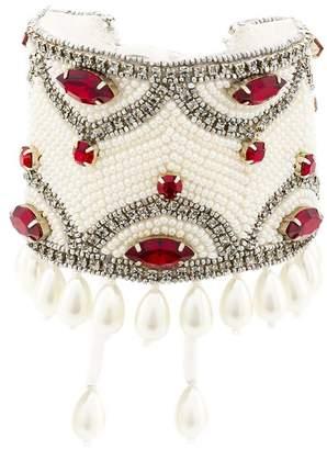 Etro (エトロ) - Etro crystal pearl embellished bracelet