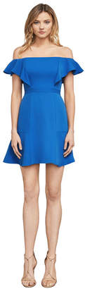 BCBGMAXAZRIA Alandra Off-The-Shoulder A-Line Dress