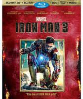 Disney Iron Man 3 3-D Blu-ray 3-Disc Set