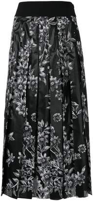 Fendi floral print skirt