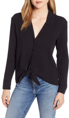 1 STATE 1.STATE Button-Up Tie Front Top