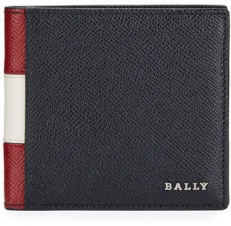 Bally Men's Trasai Bi-Fold Leather Trainspotting Wallet