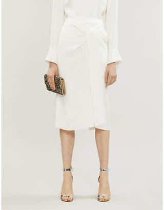 Roland Mouret Aura high-waist crepe pencil skirt
