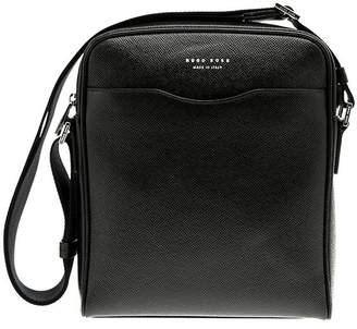 at Italist · HUGO BOSS Leather Crossbody d64ecc7726c63