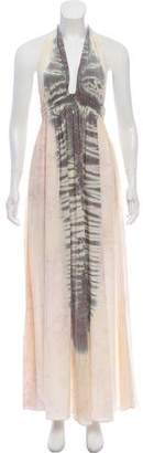LoveShackFancy Tie-Dye Maxi Dress