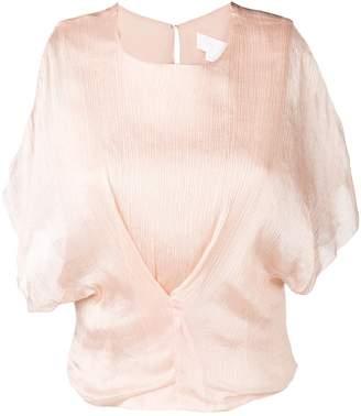 Genny cut-out detail blouse