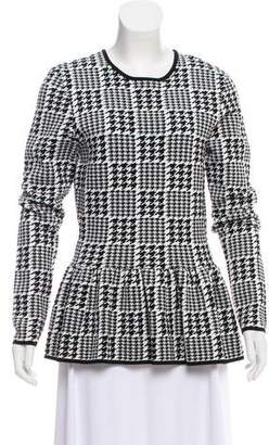 Torn By Ronny Kobo Natalie Houndstooth Sweater w/ Tags