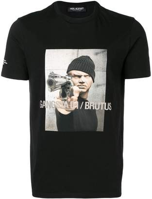 Neil Barrett Gangsta Brutus T-shirt