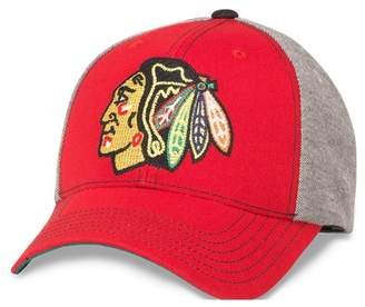 3703110ff8aec American Needle NHL Savvy Chicago Blackhawks Baseball Cap