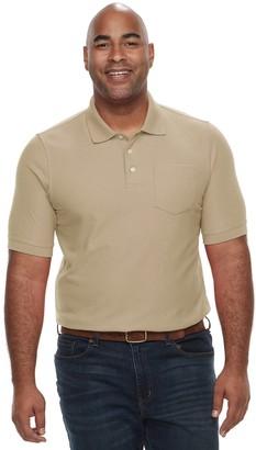 Croft & Barrow Big & Tall Regular-Fit Pique Pocket Polo
