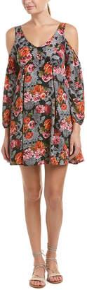Romeo & Juliet Couture Cold-Shoulder Shift Dress