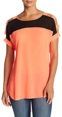 Papillon Strappy Short Sleeve Top
