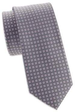 Michael Kors Small Stitched Neat Silk Tie