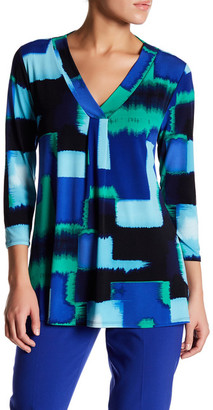 Chaus Abstract Fragment Blouse $59 thestylecure.com