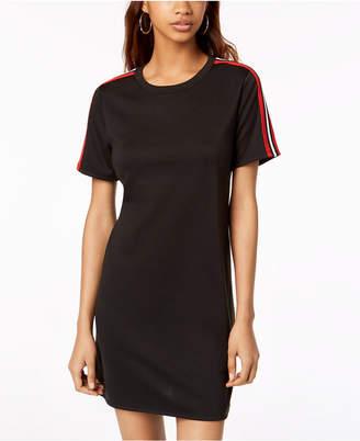 One Clothing Varsity Stripe T-Shirt Dress
