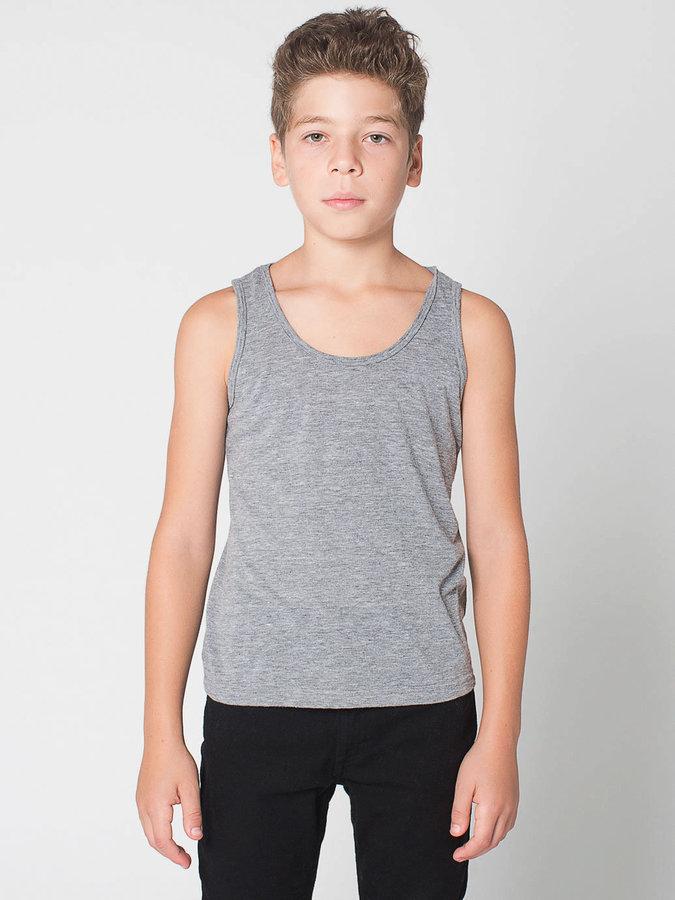 American Apparel Youth Tri-Blend Tank