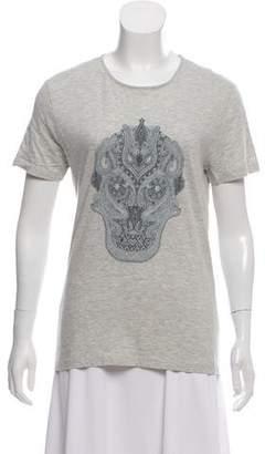 Alexander McQueen Skull Graphic-T Shirt