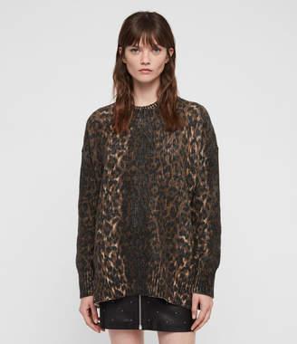AllSaints Leopard Sweater