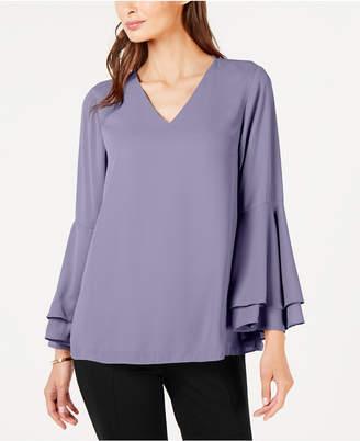 Alfani Bell-Sleeve Blouse