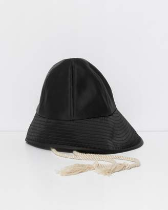 3.1 Phillip Lim Black Sporting Bucket Hat