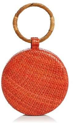 SERPUI Serena Wicker Circle Bag