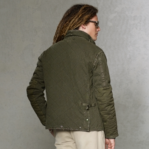 Polo Ralph Lauren Quilted Jersey Utility Jacket