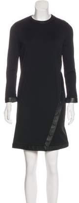 Tom Ford Wool-Blend Long Sleeve Dress