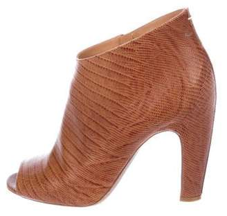 Maison Margiela Lizard Ankle Boots