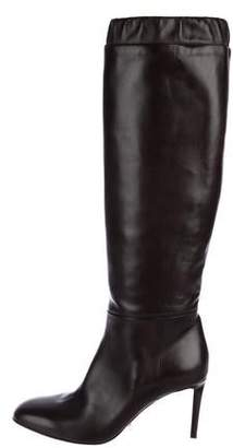 Tom Ford Leather Knee-High Boots