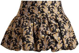 Marques Almeida MARQUES'ALMEIDA Foliage-jacquard mini skirt