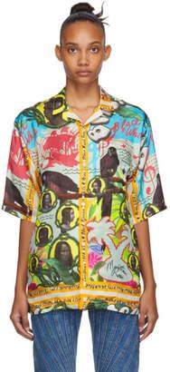 Martine Rose Multicolor Bristol Hawaiian Shirt